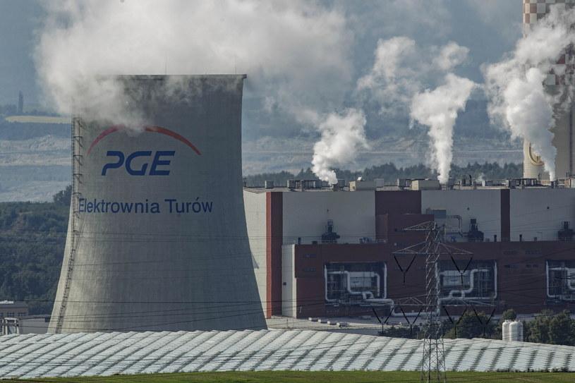 Tereny Elektrowni Turów w Bogatyni /Aleksander Koźmiński /PAP