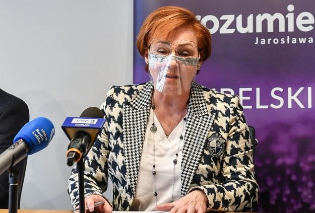 Teresa Bogacka /Wojtek Jargiło /PAP