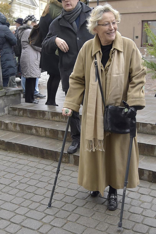 Teresa Budzisz-Krzyżanowska wiele lat temu uległa poważnemu wypadkowi samochodowemu /AKPA