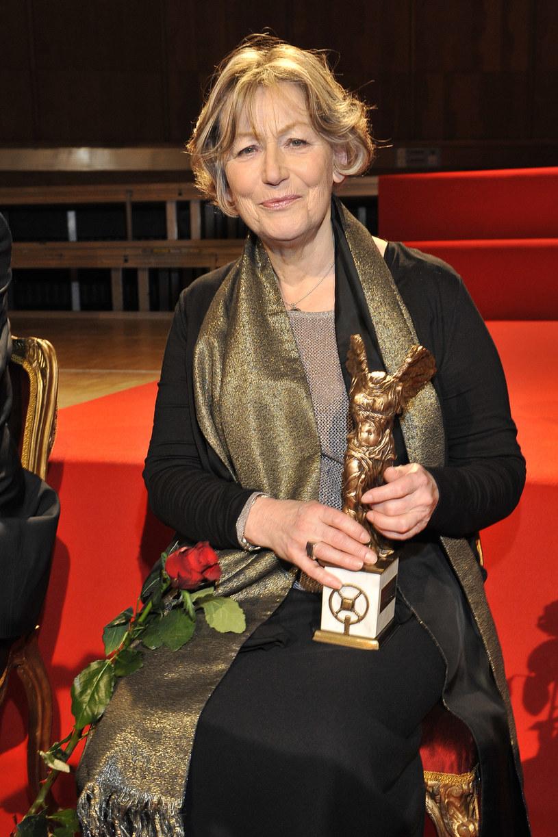 Teresa Budzisz-Krzyżanowska została w 2014 roku laureatką nagrody Wielkiego Splendora, przyznawanej przez Teatr Polskiego Radia /AKPA