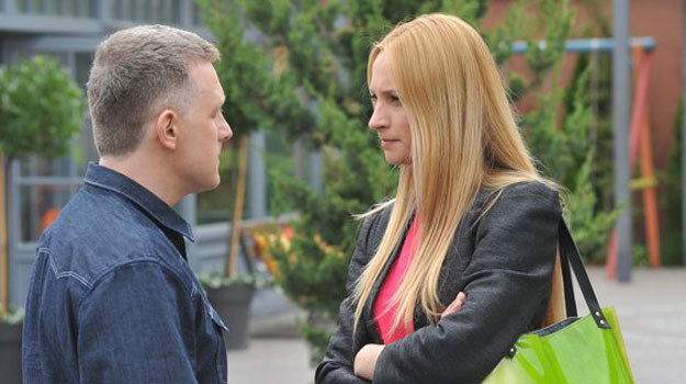 Teresa chce odseparować Artura od córki? /www.mjakmilosc.tvp.pl/