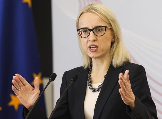 Teresa Czerwińska, minister finansów. Fot. Andrzej Hulimka /FORUM
