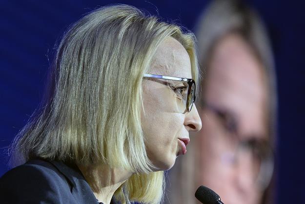 Teresa Czerwińska, minister finansów. Fot. Łukasz Dejnarowicz /FORUM