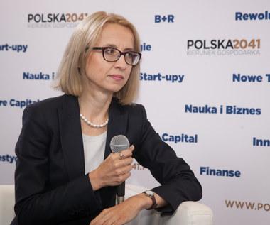 Teresa Czerwińska, minister finansów specjalnie dla Interii