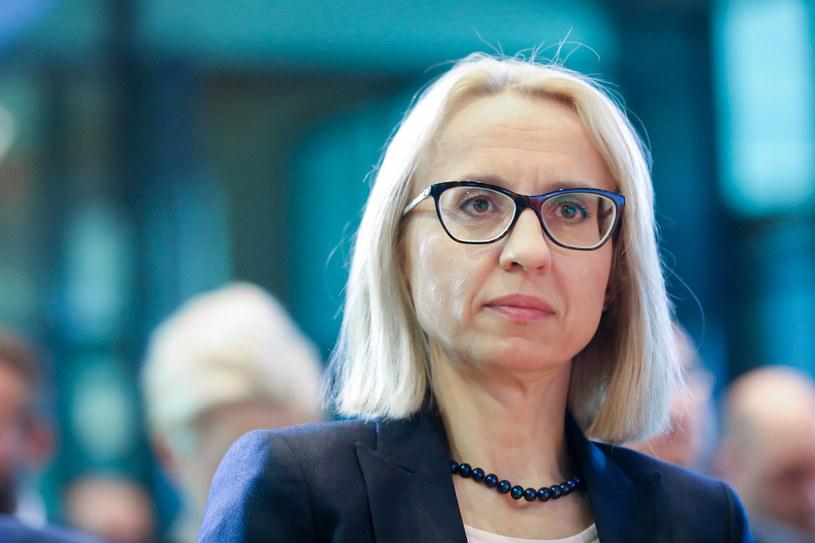 Teresa Czerwińska, minister finansów /fot. Andrzej Iwanczuk/REPORTER /Agencja SE/East News