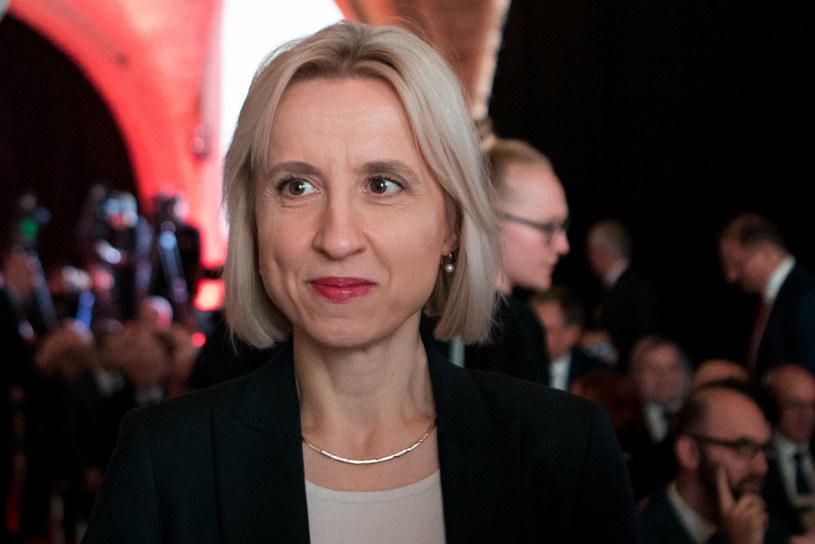 Teresa Czerwińska, wiceprezes Europejskiego Banku Inwestycyjnego /Tomasz Jastrzębowski /Reporter