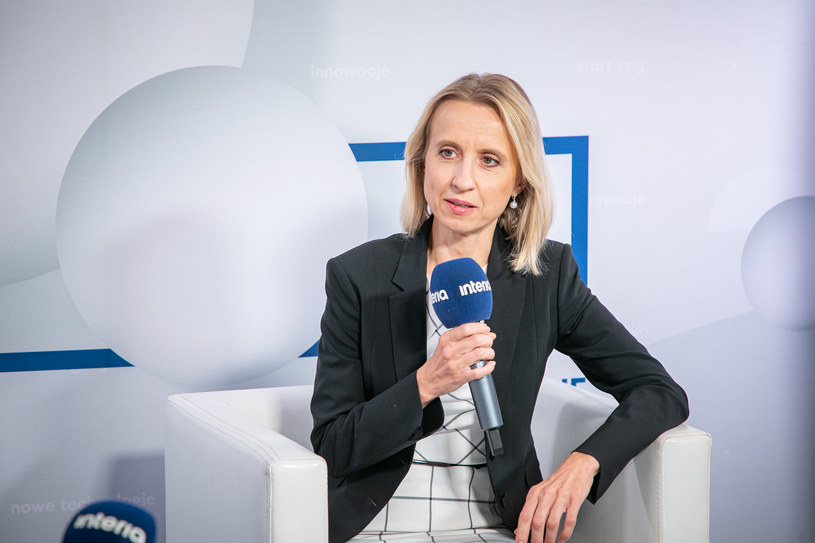 Teresa Czerwińska, wiceprezes Europejskiego Banku Inwestycyjnego. /Fot. Ireneusz Rek /INTERIA.PL