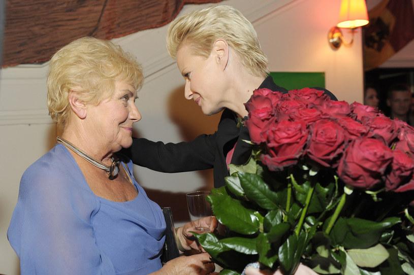 Teresa Lipowska i Mąłgorzata Kożuchowska /Niemiec /AKPA