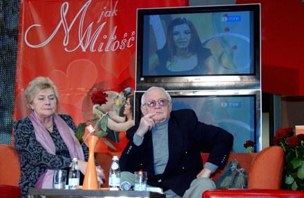 Teresa Lipowska i Witold Pyrkosz/fot. J. Stalęga /MWMedia