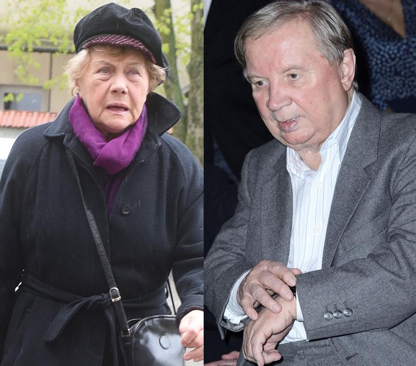 Teresa Lipowska, Roman Kłosowski, fot. Andras Szilagyi /Jarosław Antoniak /MWMedia