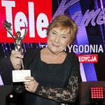 Teresa Lipowska z Platynową Telekamerą