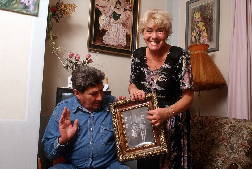 Teresa Lipowska ze zmarłym mężem Tomaszem Zaliwskim /Snieciński  /Reporter