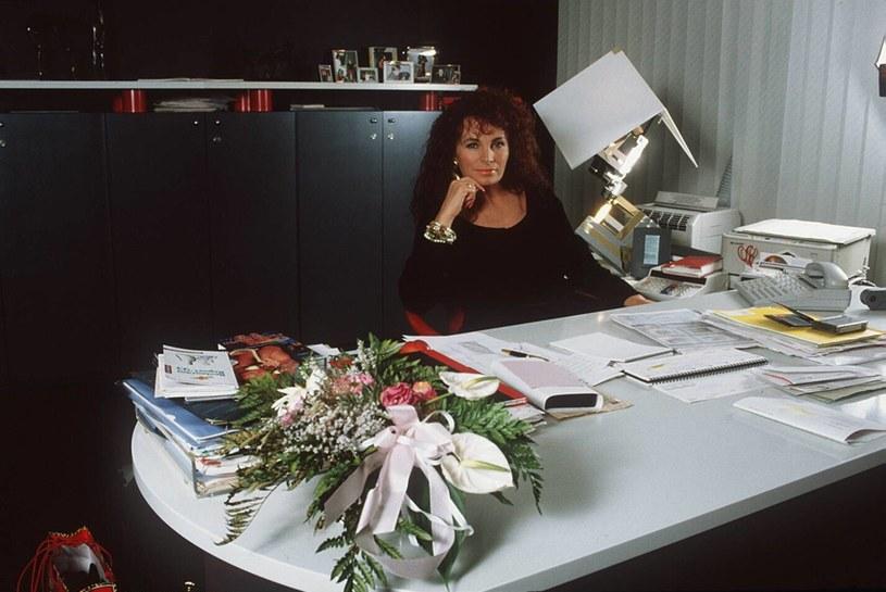 Teresa Orlowski była również przedsiębiorczą producentką /Agencja FORUM