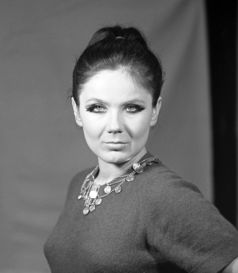 Teresa Tutinas, lata 60. /Jerzy Plonski /Agencja FORUM