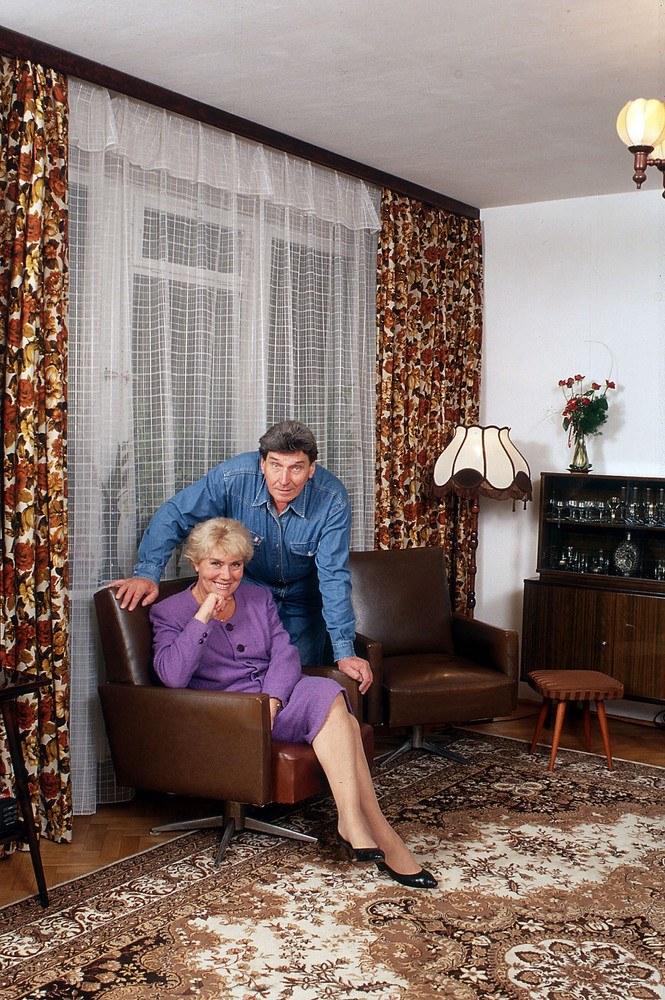 Teresa z mężem /Igor Sneciński/REPORTER /East News