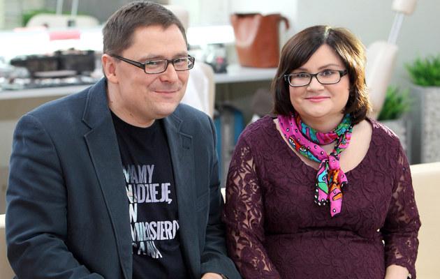 Terlikowski z żoną /- /East News