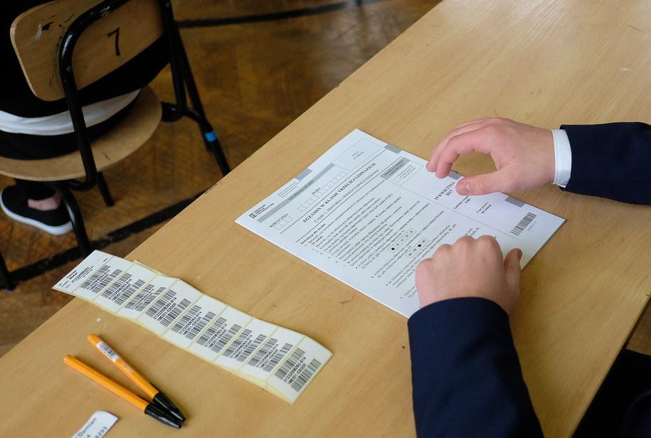 Termin strajku może się zbiec z zaplanowanymi na kwiecień egzaminami zewnętrznymi /Darek Delmanowicz /PAP