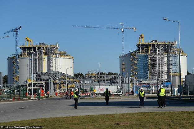 Terminal LNG w Swinoujsciu, fot. Łukasz Szelemej /East News