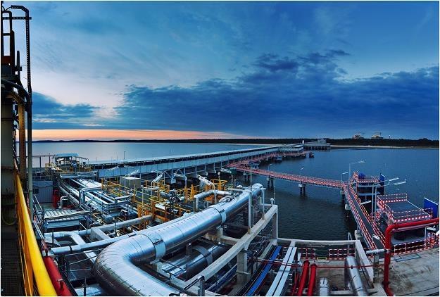 Terminal LNG w Świnoujściu. Fot. Polskie LNG /