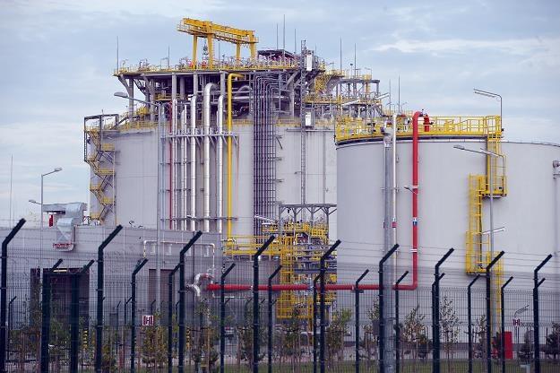 Terminal LNG w Świnoujściu /PAP