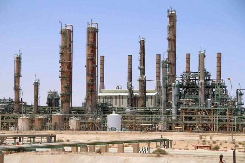 Terminal na polu naftowym Sharara /AFP