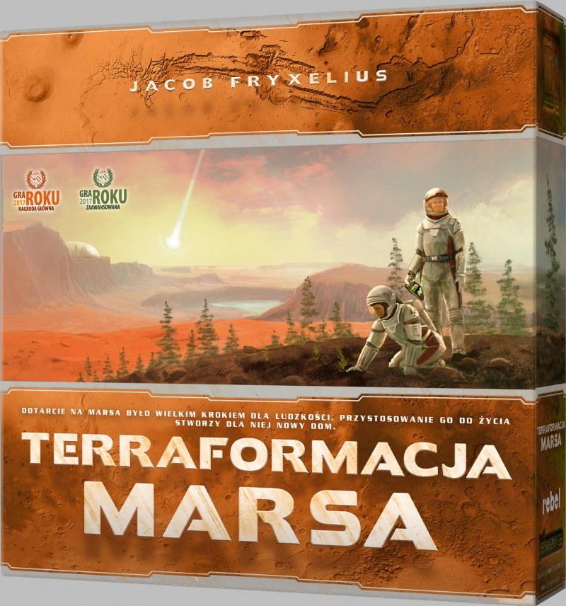 Terraformacja Marsa /materiały prasowe