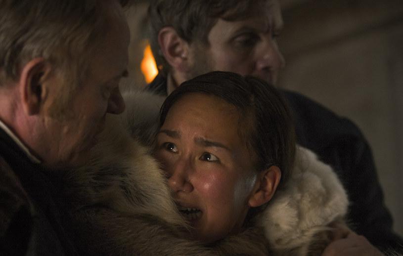 """Terror"":  Nive Nielsen i Jared Harris /AMC /materiały prasowe"