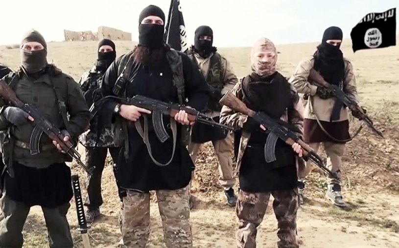 Terroryści z ISIS /