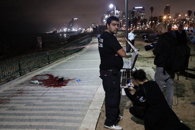 Terrorysta na oślep atakował ludzi /AFP