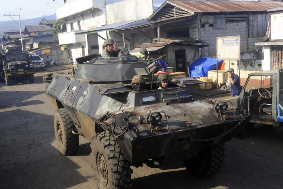 Terrorysta zginął w styczniu podczas akcji przeprowadzonej na Filipinach /BEN HAJAN   /PAP/EPA