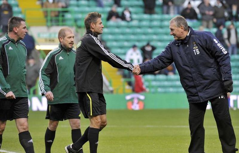 Terry Butcher (z prawej) /AFP