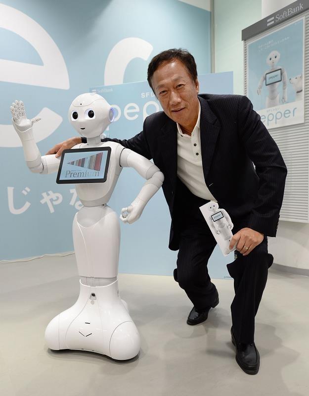 Terry Gou, prezes Foxconn Technology Group /AFP