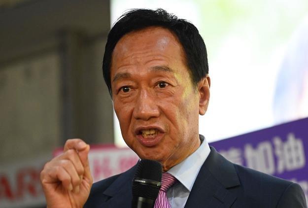 Terry Gou, założyciel  tajwańskiej firmy Foxconn /AFP