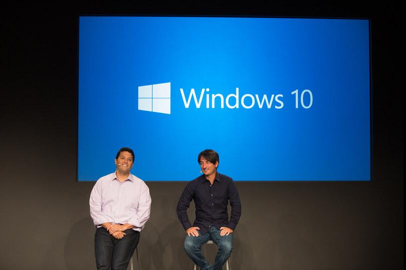 Terry Myerson i Joe Belfiore - jedni z wielu twórców nowego systemu operacyjnego firmy Microsoft /materiały prasowe