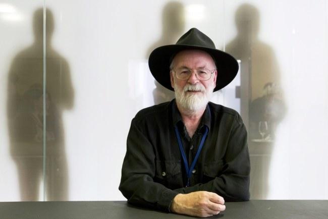 Terry Pratchett nie żyje /Alessandro della Bella /PAP/EPA
