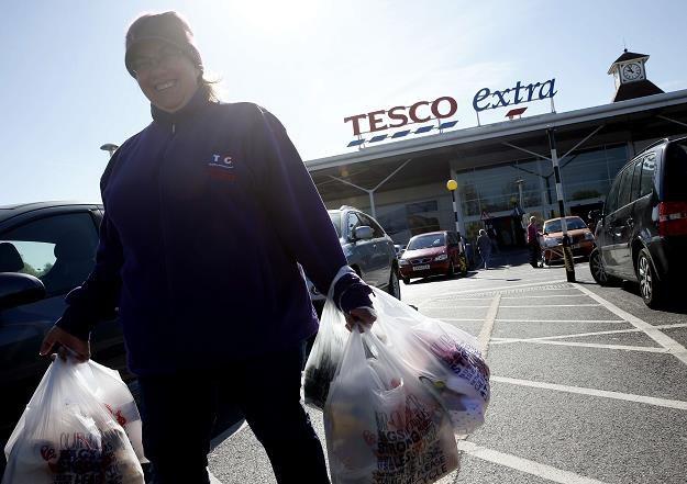 Tesco w Sunbury (Wielka Brytania) /AFP