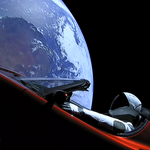 Tesla będzie krążyć w kosmosie przez miliony lat