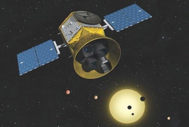 TESS rozpocznie poszukiwania egzoplanet w 2017 r. /NASA