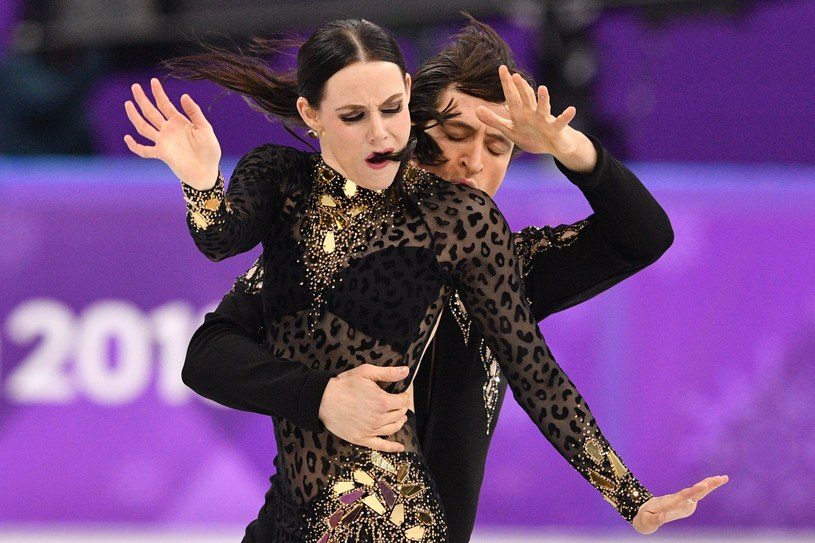 Tessa Virtue i Scott Moir /AFP