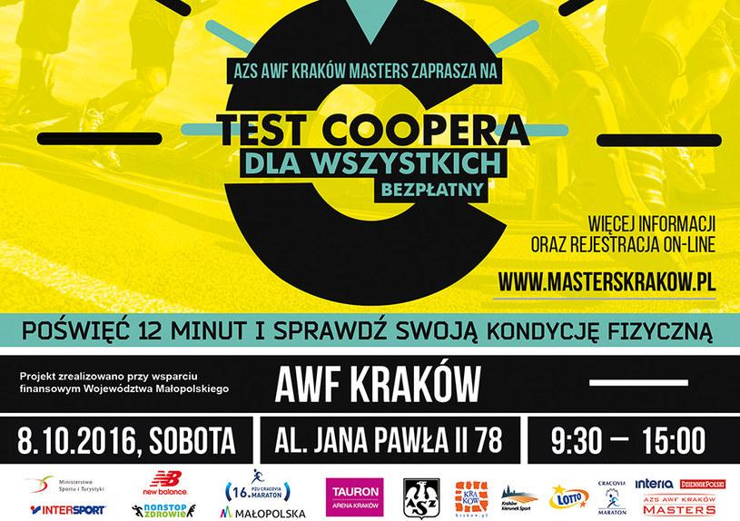 Test Coopera. /INTERIA.PL
