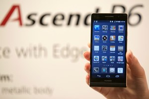 Test Huawei Ascend P6 - iPhone z Androidem