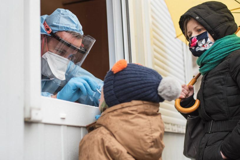 Test na koronawirusa w Lubinie /Piotr Dziurman /Reporter