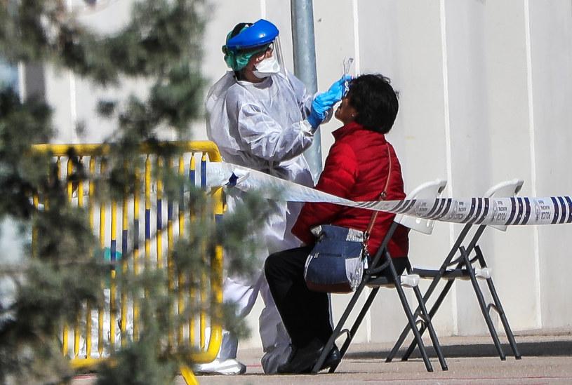 Test na obecność koronawirusa w Hiszpanii /Jesuşs Hellin/Europa Press  /Getty Images