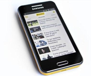 Test Samsung Galaxy Beam - smartfon z projektorem