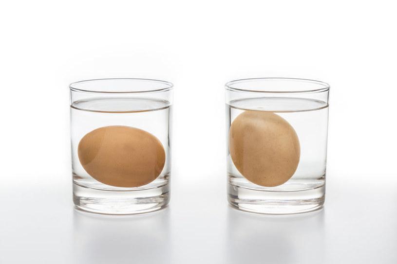 Test świeżości jajek /©123RF/PICSEL