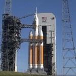 Testowa misja kapsuły kosmicznej Orion wstrzymana