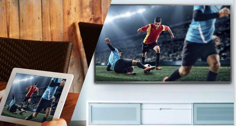 Testowany Panasonic Viera umożliwia strumieniowanie materiałów wideo /materiały prasowe