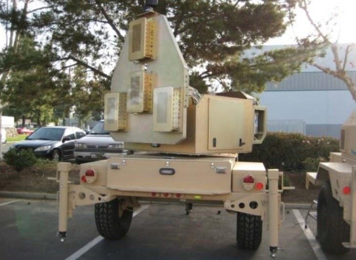 Testowy radar wykorzystywany w czasie testów systemu EAPS ARDEC. Fot. ARDEC /Defence24