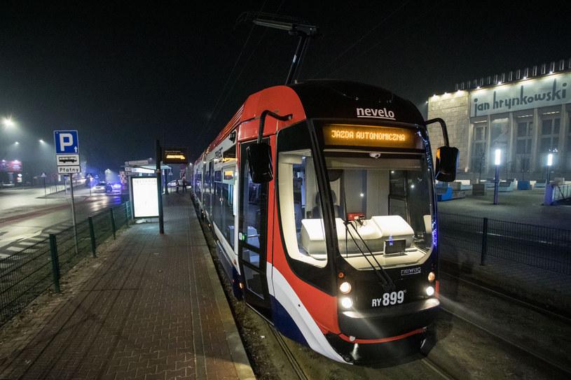 Testy autonomicznego tramwaju w Krakowie /Jan Graczyński /East News