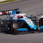 Testy Formuły 1: Robert Kubica z najgorszym czasem przedpołudniowej sesji